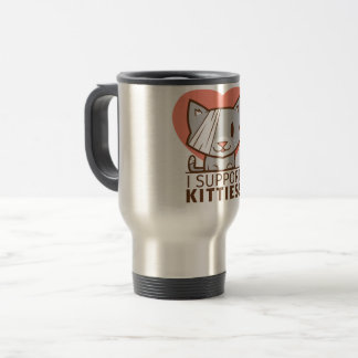 Support Kitty Travel Mug