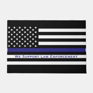 Support Law Enforcement Doormat