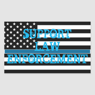 Support Law Enforcement Sticker