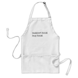 Support Local Buy Local Aprons