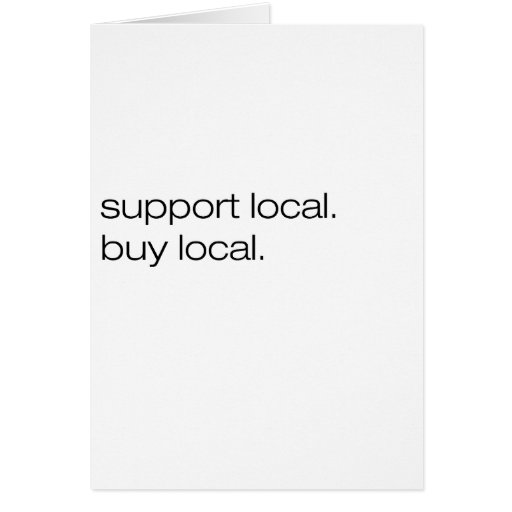Support Local Buy Local Cards