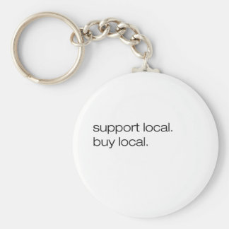 Support Local Buy Local Key Chain