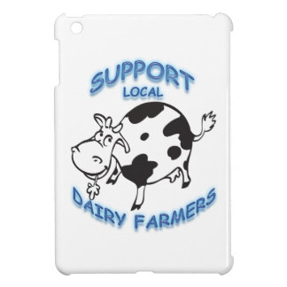 Support Local Dairy Farmers Cover For The iPad Mini