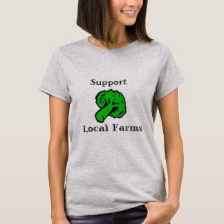 Support Local Farms Broccoli Tee Shirt