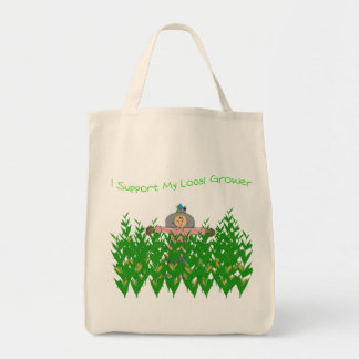 Support Local Grower Tote Canvas Bag
