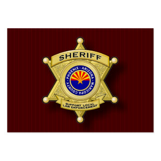 Support Local Law Enforcement profile card Business Card