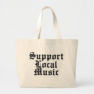 Support Local Music Canvas Bags