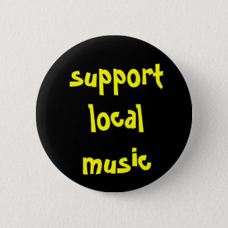 Support Local Music Button