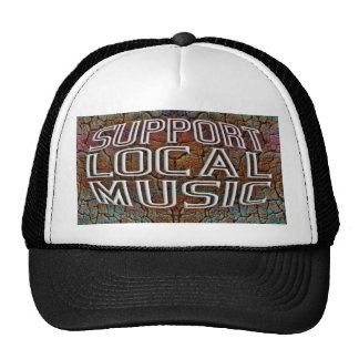 Support Local Music Trucker Hats