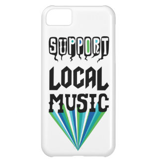 Support Local Music iphone 5 case