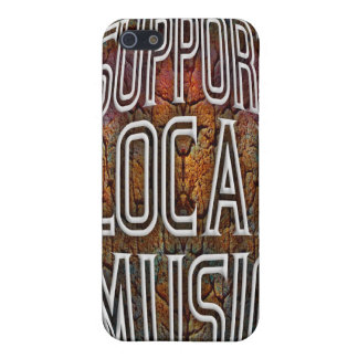 Support Local Music iPhone 5 Cover