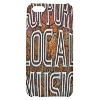 Support Local Music iPhone 5C Cases