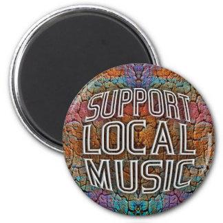 Support Local Music Fridge Magnets