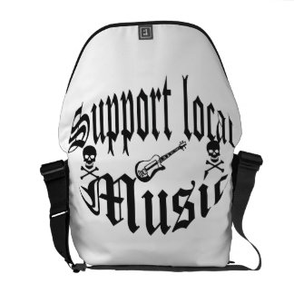 support local music messenger bags
