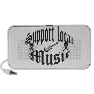 support local music  speakers