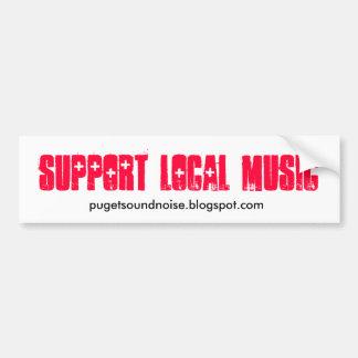 Support Local Music Sticker