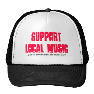 Support Local Music Trucker Hat