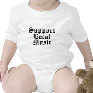 Support Local Music Tee Shirt