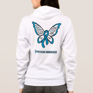 Support/Love/Believe...Dystonia Hoodie