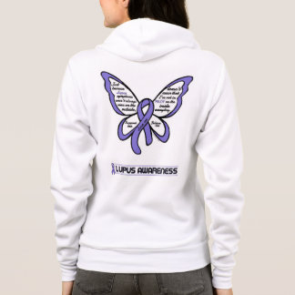 Support/Love/Believe...Lupus Hoodie