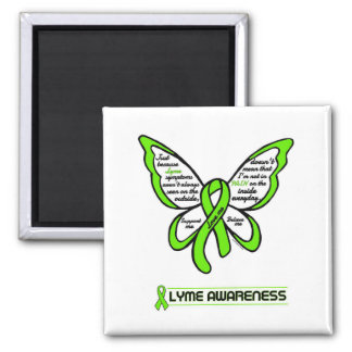 Support/Love/Believe...Lyme Magnet