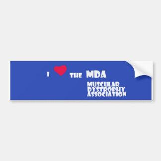 Support MDA Bumper Sticker