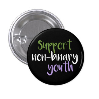 Support Non-Binary Youth Badge