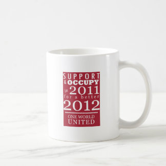Support & Occupy Future Coffee Mug