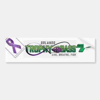 Support Organ Donation and Cystic Fibrosis Car Bumper Sticker