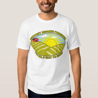 Support Organic Farming Tee Shirts