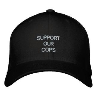 SUPPORT OUR COPS @ eZaZZleMan.com Baseball Cap
