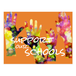 Support Our Schools Postcard
