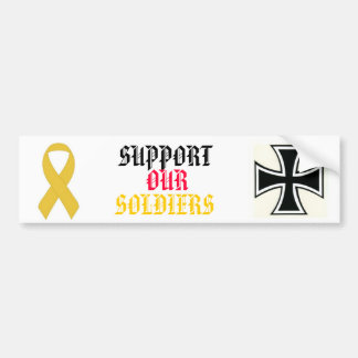 SUPPORT OUR SOLDIERS BUMPER STICKER