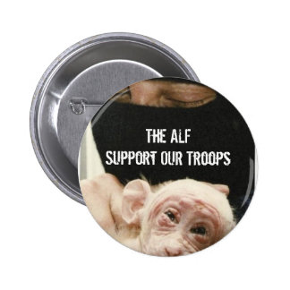 Support OUR Troops! 6 Cm Round Badge