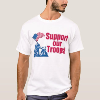 Support our troops and the war T-Shirt