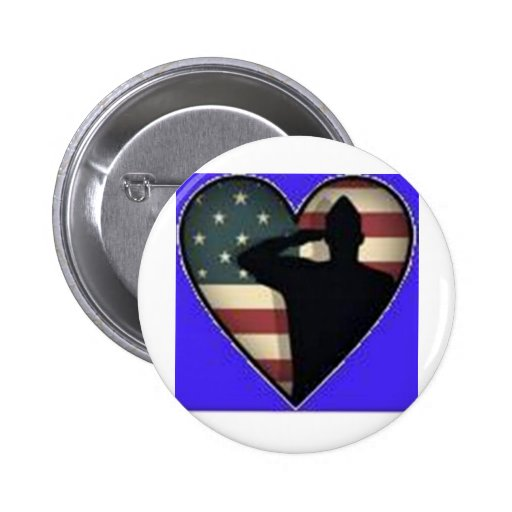 Support our Troops Pinback Buttons