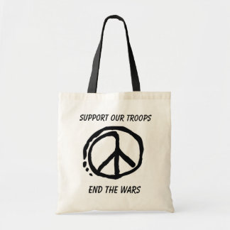 Support Our Troops Budget Tote Bag