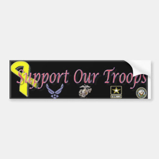Support Our Troops Bumper Sticker