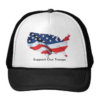 Support Our Troops Cap Hats