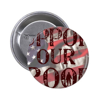support our troops copy buttons