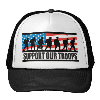 Support Our Troops Mesh Hats