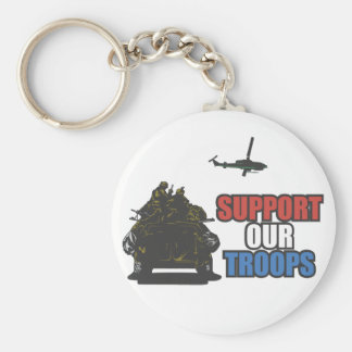 Support Our Troops Key Chain