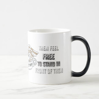 Support our Troops Magic Mug