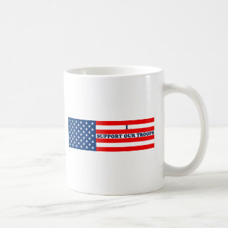Support our Troops Basic White Mug