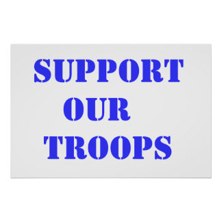 Support Our Troops Print