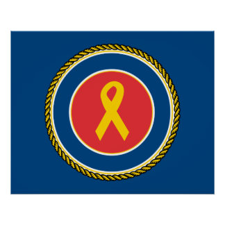 Support Our Troops Ribbon Posters