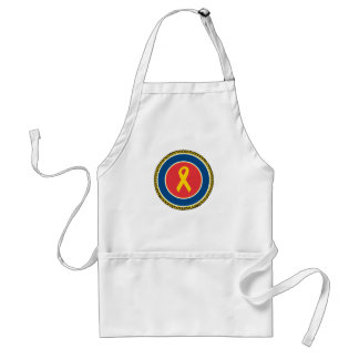 Support Our Troops Ribbon Standard Apron