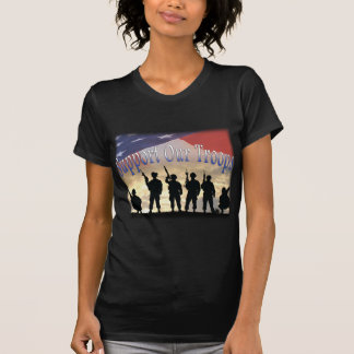 Support Our Troops Soldiers T-Shirt