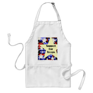 Support Our Troops Standard Apron