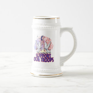 """Support Our Troops"" Stein Or Mug"